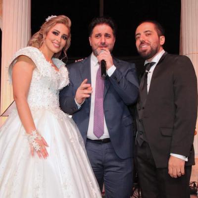 حفل زفاف انطون وميرا في صيدنايا سوريا
