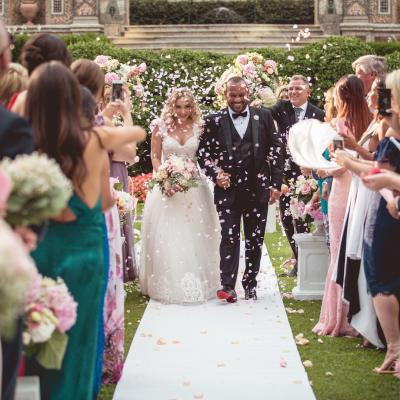 Hazim and Bianca's Destination Wedding in Lake Como