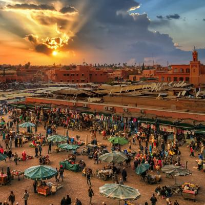 Your Honeymoon Destination: Marrakesh