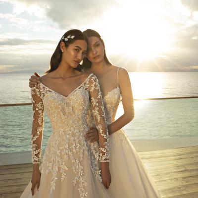 مجموعة كوزموبيلا لفساتين زفاف 2020 من ديمتريوس
