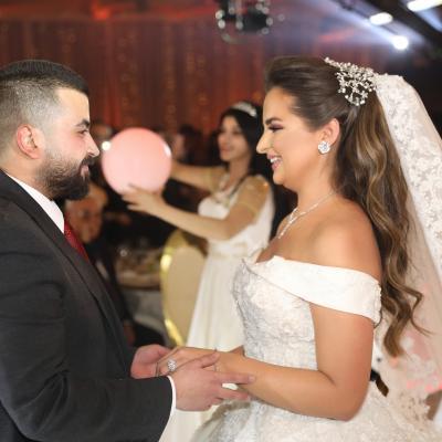 حفل زفاف لين وأحمد في سوريا