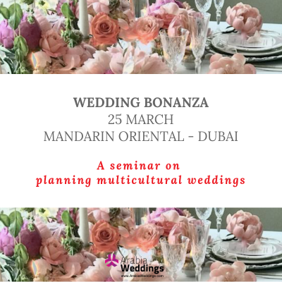 Arabia Weddings Launches WEDDING BONANZA Seminar