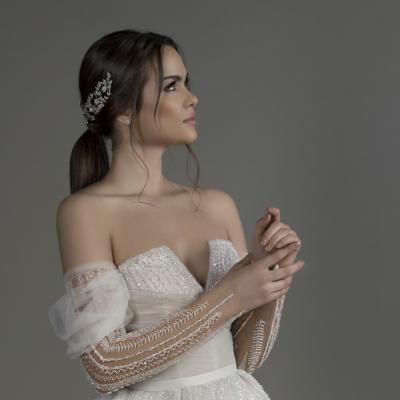 مجموعة فساتين زفاف كريستيل عطا الله لعام 2019