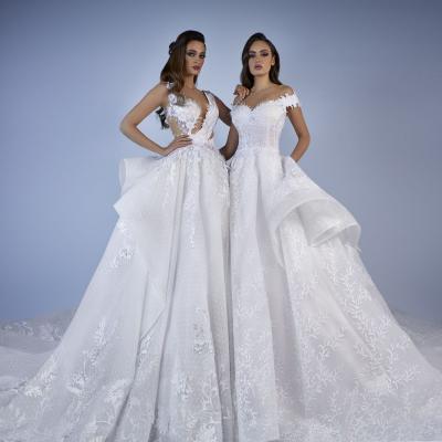 مجموعة فساتين زفاف طوني شعيا لعام 2019