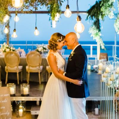 Elegant Beach Wedding in Cyprus for Cynthia and Philip
