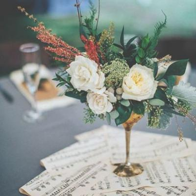 A Musical Wedding Theme