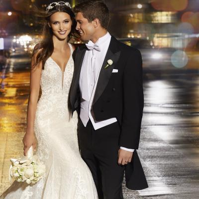 إطلاق مجموعة مادلين جاردنر لفساتين الزفاف