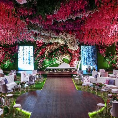 A Magical Floral Engagement in Doha