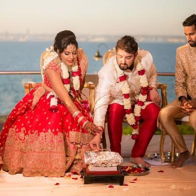 First Indian Wedding at Dead Sea Jordan