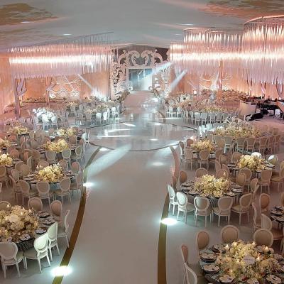 حفل زفاف فاخر ومذهل في لبنان