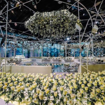 Sheikha Mariam and Sheikh Abdallah Al Thani Luxury Wedding
