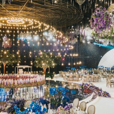 Sheikha Zulfa and Sheikh Jassim's Majestic Wedding in Qatar