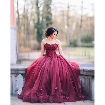 Beautiful Engagement Ballgowns