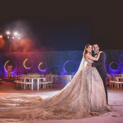 Floral Infinity Wedding by Paul Nasr