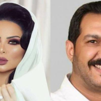 أنباء عن عقد قران الإعلامي معاذ العمري والفنانة ديانا كرزون