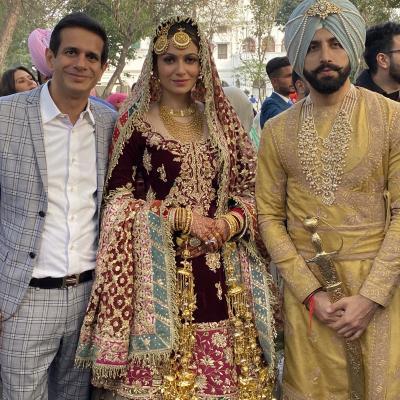 A Magical Wedding of Gurickk and Simran Kaur Mundi