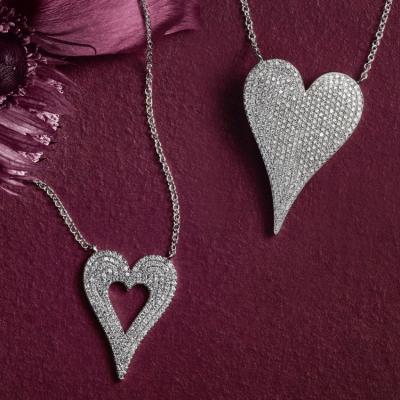 قطع مجوهرات بسيطة وأنيقة لعيد الحب ومعانيها