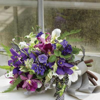 The 'African Violet' for Your Winter Wedding