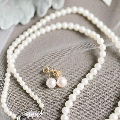 Beautiful Pearl Jewelry For Brides