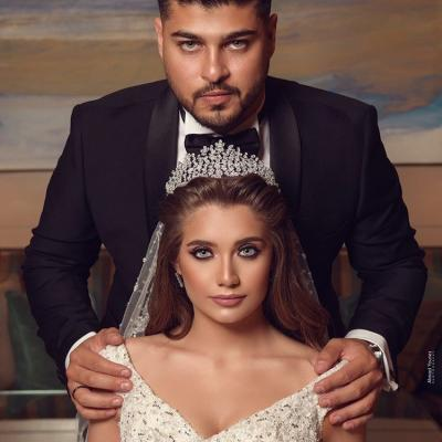 حفل زفاف مريم وحسن في بيروت