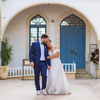 Yamen and Desiree's Destination Wedding in Cyprus
