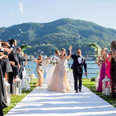 Chic Lebanese Destination Wedding at Lake Como