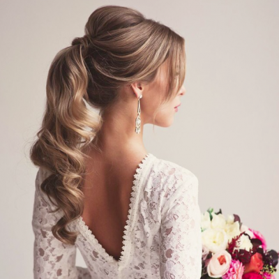 Bridal Hair Trend: The Ponytail