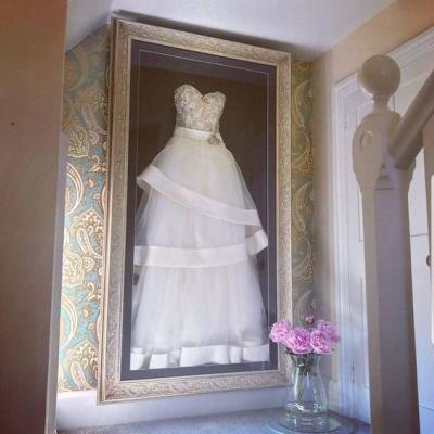أفكار فريدة من نوعها للإحتفاظ ببدلة العروس