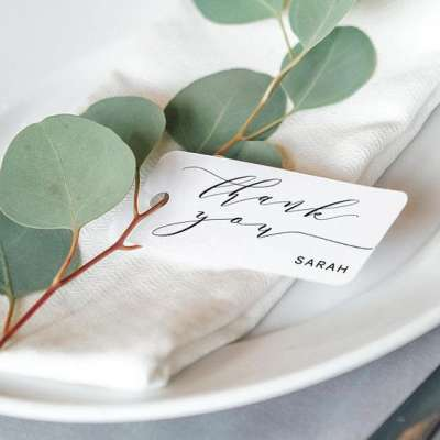 Thank You Notes for Your Guests