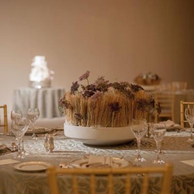 حفل زفاف حميم في جدة من تنظيم لايس ايفينتس