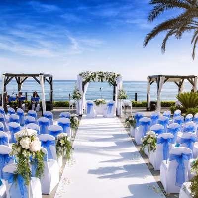 أفضل الأماكن في ماربيا لحفلات الزفاف الفاخرة