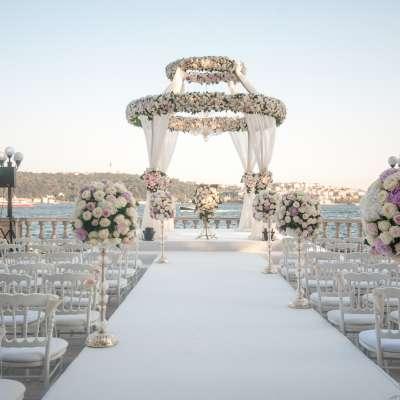 أفضل 6 أماكن زفاف فاخرة في اسطنبول
