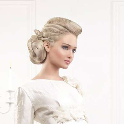 Bridal Hairstyles by Lebanese Hairstylist Talal Tabbara