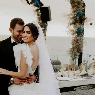 حفل زفاف تالين وعلي في لبنان