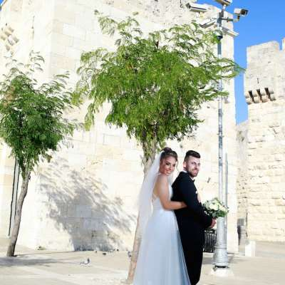Jacob and Mariana's Wedding in Jerusalem