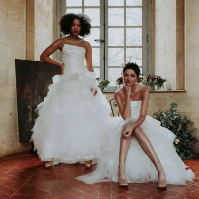 """مجموعة فساتين زفاف """"بوغ آن وي"""" من سمبلين لعام 2021"""