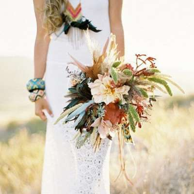 What To Wear for a Boho-Themed Wedding