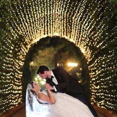 حفل زفاف فرح وكريم في لبنان