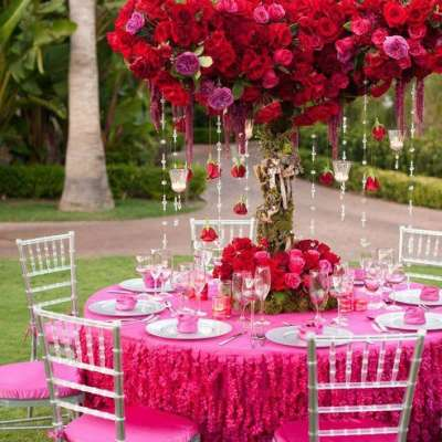Pink Color Combinations for Your Wedding