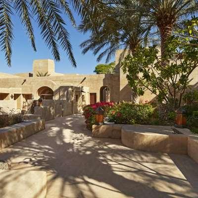 Bab AL Shams exterior view