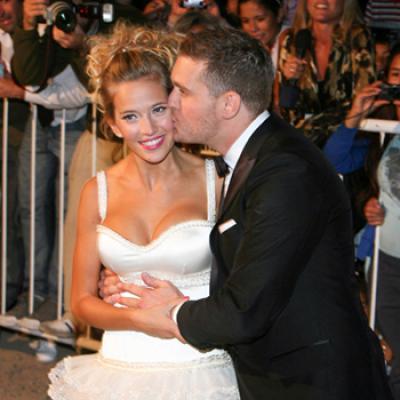 Michael Buble And Luisana Lopilatos Wedding