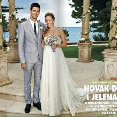 novak djokovic and jelena ristics wedding arabia weddings