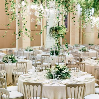 An indoor rich garden wedding by the purple chair arabia weddings discover more real luxury weddings junglespirit Gallery