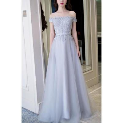 Silver Dew For Evening Gowns