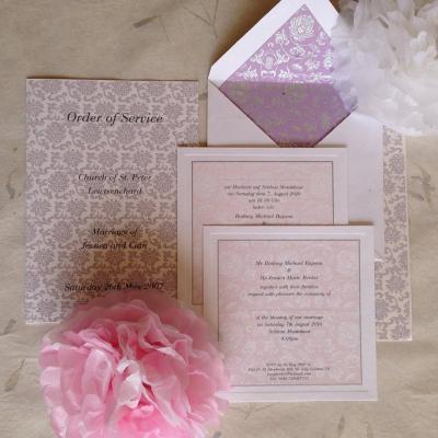 فيناتي بيبر لدعوات الزفاف