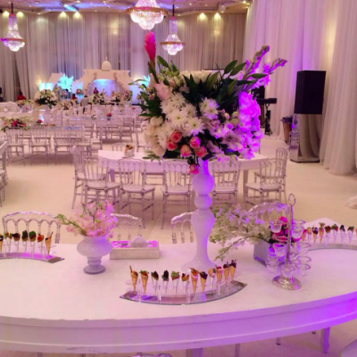 Centerpieces by Sindyan Flowers