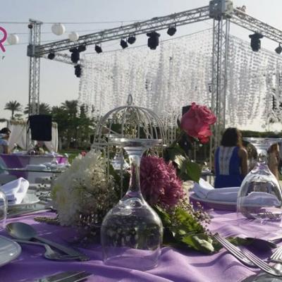فلور لتنظيم الزفاف