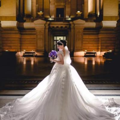 فاطمة بوتشيبا لفساتين الزفاف