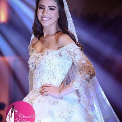 تشانتل فستان زفاف
