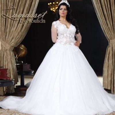 لمسات مفيدة لفساتين الزفاف